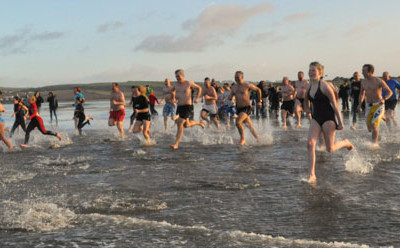 2013 New Year Dip